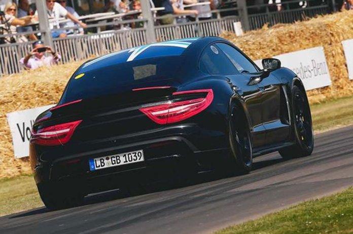 Porsche Taycan rear
