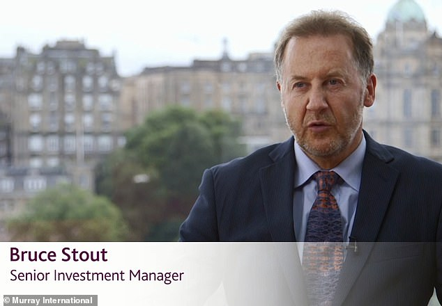 Loyal belief: Murray International's Bruce Stout believes his formula is ideal for income-focused investors.No other global equity income trust provides a higher income.