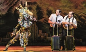 The Book of Mormon at the Prince of Wales, London