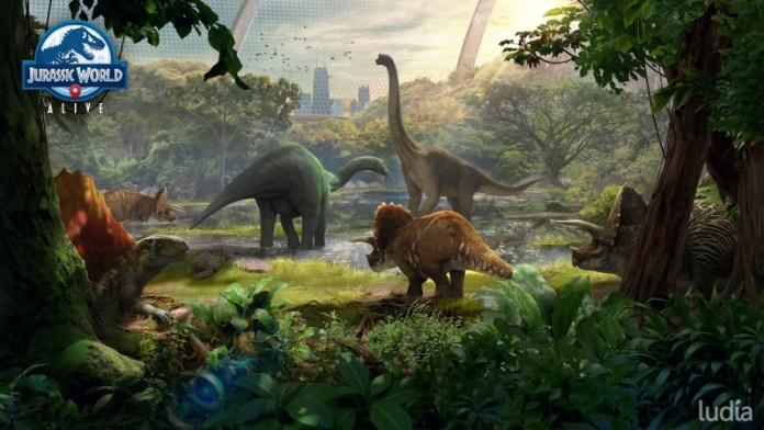 Sanctuaries are coming to Jurassic World Alive