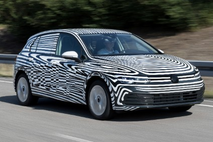 Golf wont be at the IAA but it will be the first big volume car to wear the tweaked VW badge which will be revealed on 9 September
