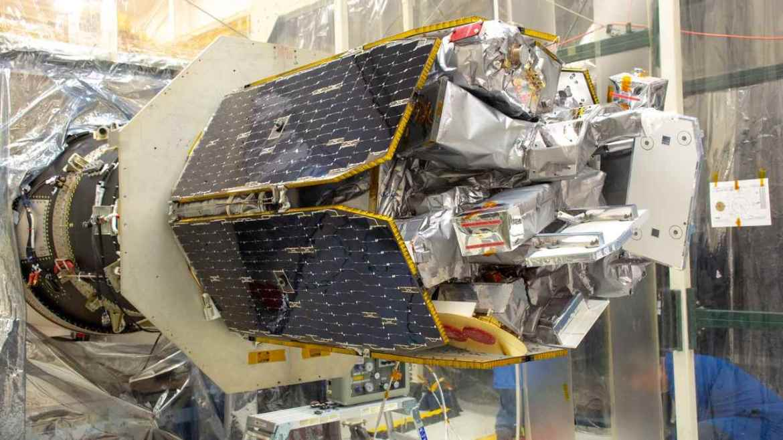 NASA's Ionospheric Connection Explorer (ICON). image credit: NASA