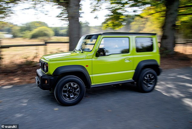 The Best Off-Roader award went to the Suzuki Jimny. That's some feat for a car that costs from just £15,000 and was going up against £100,000 Range Rovers, Bentleys and Porsches