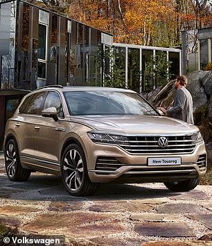 The Volkswagen Touareg picked up the title of Best Tow Car