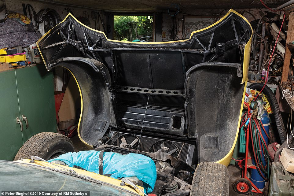 The car will need a little TLC to make the most of its condition, but the buyer will likely want to keep it as original as possible to preserve its value