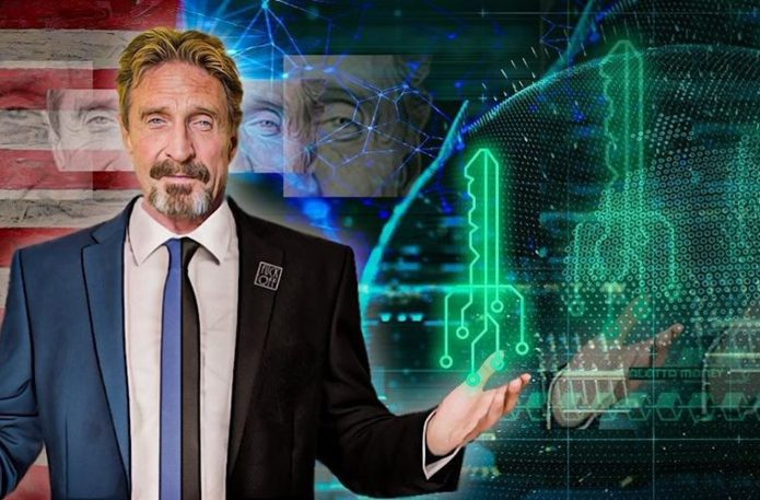 McAfee Envisions DEX in a World Where Crypto Won't Be Traded for Fiat