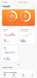 Huawei Health screenshots
