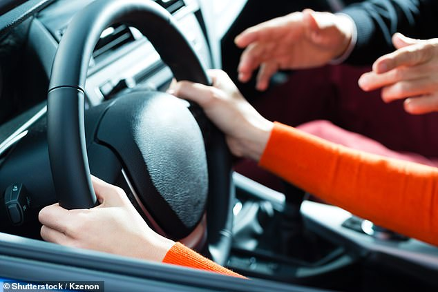 Around 1.6million people a year take the practical driving test for a one-off £62