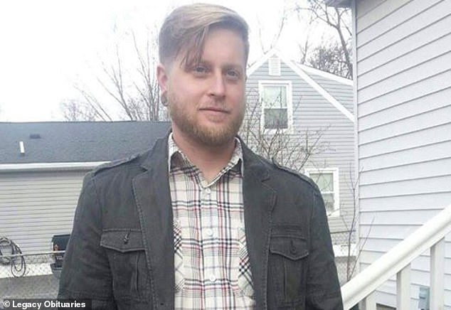 Cicotte said that Pennington (pictured) had wanted to speak about his struggle with an addiction in an open forum and that the Facebook post was a way to fulfill his wish