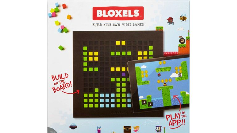 The Bloxels app has no filter to prevent offensive images being uploaded or to prevent explicit language