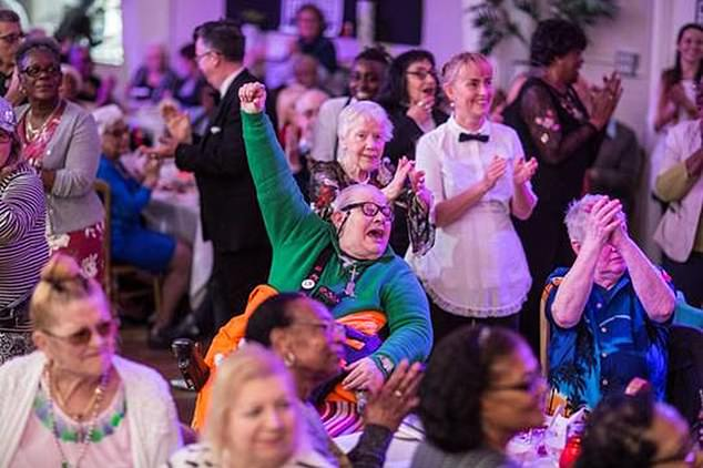Community-led events for older adults have since popped up across the country to meet demand – and it's not just bingo and bridge (pictured: The Posh Club)