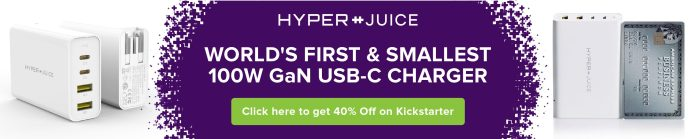 Hyper 100W GaN USB-C charger