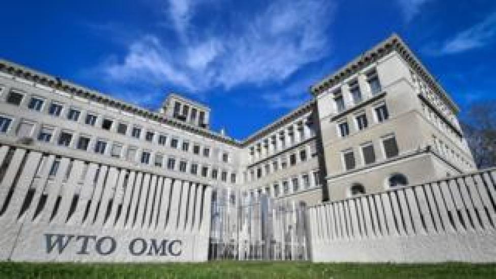 The World Trade Organization (WTO) headquarters, Geneva