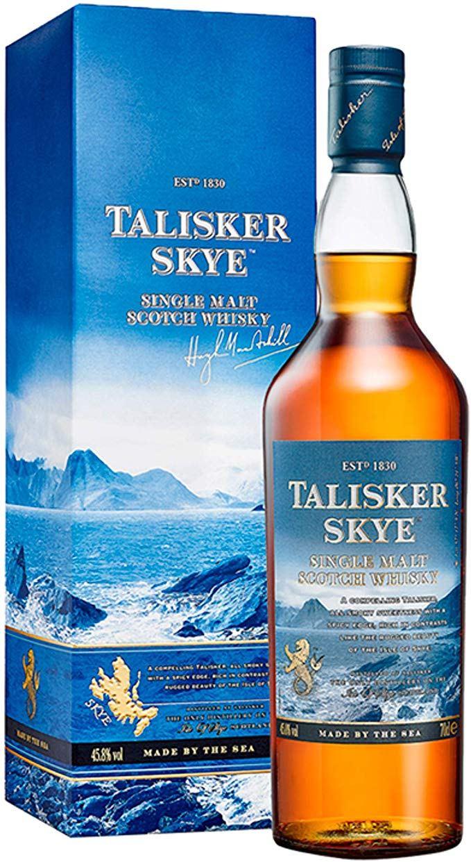 At Tesco a 70cl bottle of Talisker Skye single malt is just £26
