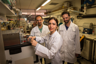 """""""This technology is the heir apparent to current batteries,"""" said Dr Mahdokht Shaibani."""