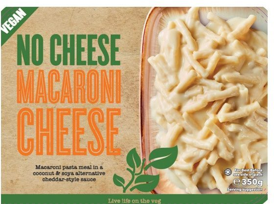 Its cheese-free macaroni has also been recalled