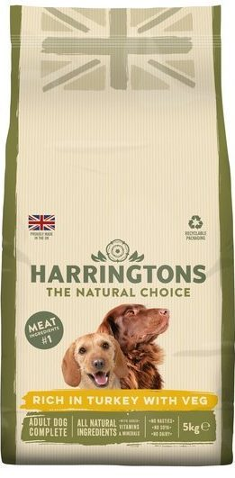 Swap from feeding your pooch Harringtons which costs £1.80 per kilo