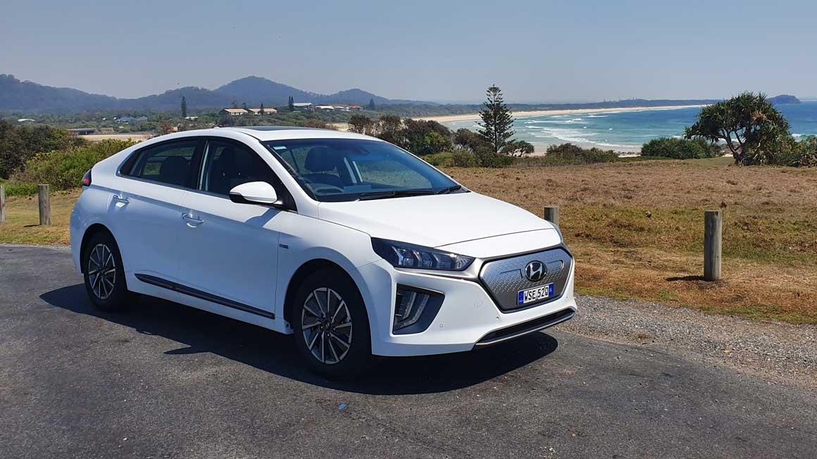 The 2020 Hyundai Ioniq . Credit: Bridie Schmidt