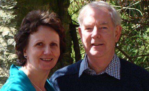 Retired GP Roger Parkin (pictured with wife Penny) had booked a £270 delivery with Morrisons two weeks in advance