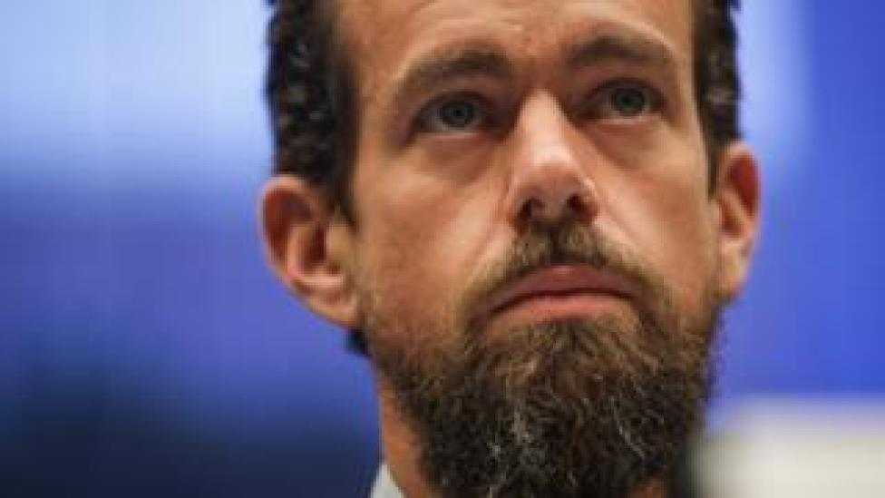 Twitter chief executive officer Jack Dorsey testifies during a House Committee on Energy and Commerce hearing