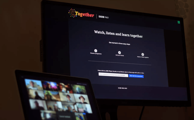 BBC Together will let you watch BBC content together (BBC)