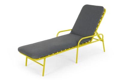 Made's Essentials Tice Garden Sun Lounger.