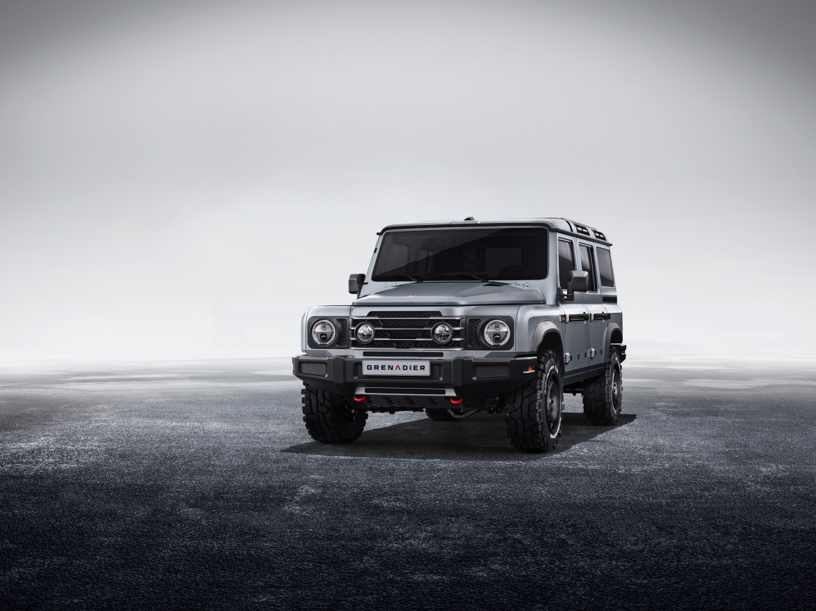 Grenadier will be thirty-something thousand pounds when it hits the road in 2022