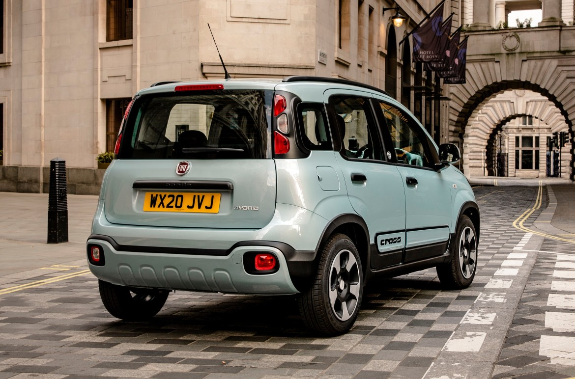 In its funky, chunky and base City Cross trim, the jacked-up and generously plastic-cladded little squirt packs genuine visual charm