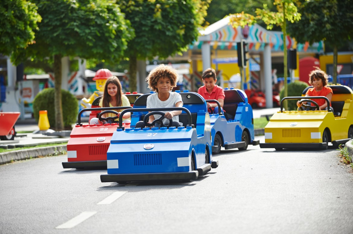 Legoland Windsor Resort has reopened with socially distanced cars