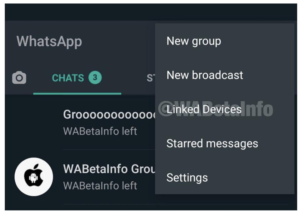 WhatsApp ″Linked Devices″