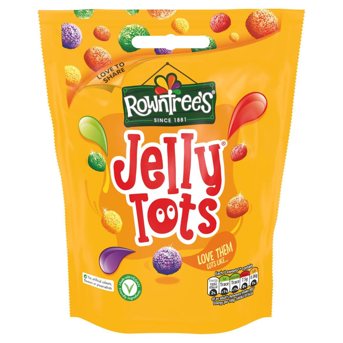 Jelly Tots are great...