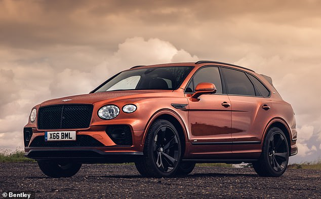 Bentley's second generation Bentayga 4X4, pictured, has been given a significant makeover including styling tweaks, more comfortable seats, and greater rear passenger legroom