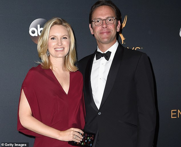 Growing business:James Murdoch, with wife Kathryn, is backing indoor farms