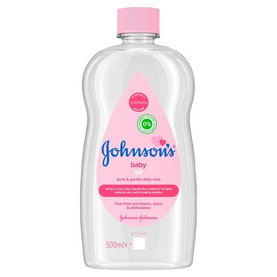 Instead of paying £2 for a bottle of Johnson's baby oil...