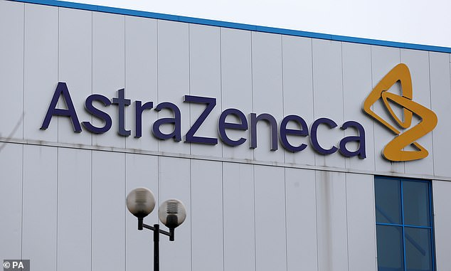 The trial has resumed in the UK, but US scientists first want to determine if the inoculation caused the vaccine or whether it was due to another factor such as an underlying condition before the US arm is resumed. Pictured: AstraZeneca headquarters in 2013