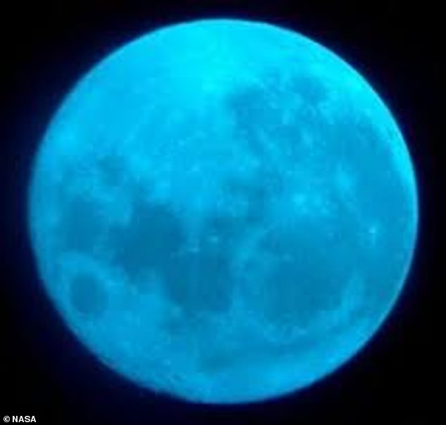 Our lunar neighbor will not shine blue, but the name is given because it is the second full moon to appear in the same month – the first occurs October 1.The moon will not be blue unfortunately and it is safe to assume that pictures with the color were altered or shot with a special blue camera filter
