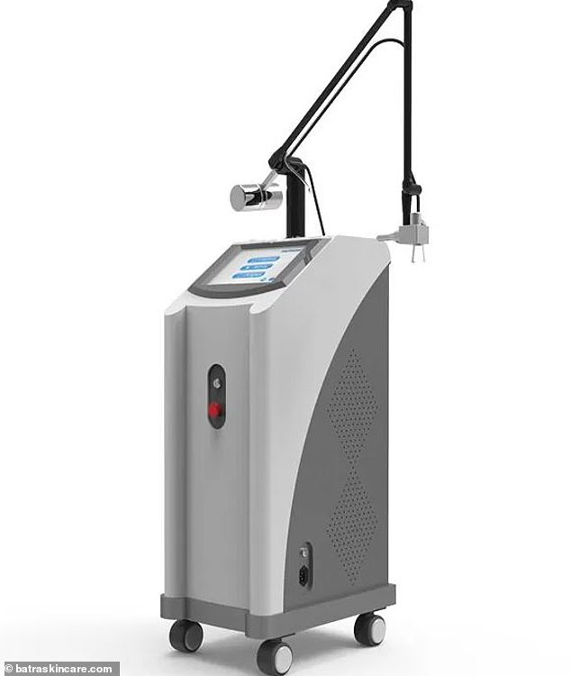 The laser machine helped improved sexual function in menopausal women bymaking microscopic wounds in the vaginal tissue