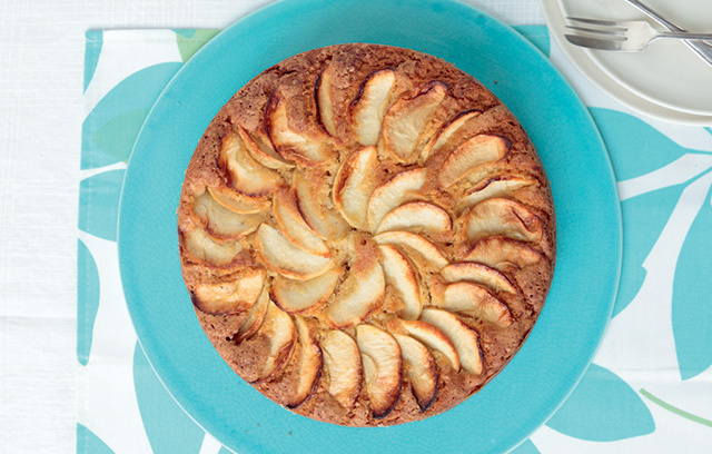 Why not serve this Dorset apple cake warm as a pudding