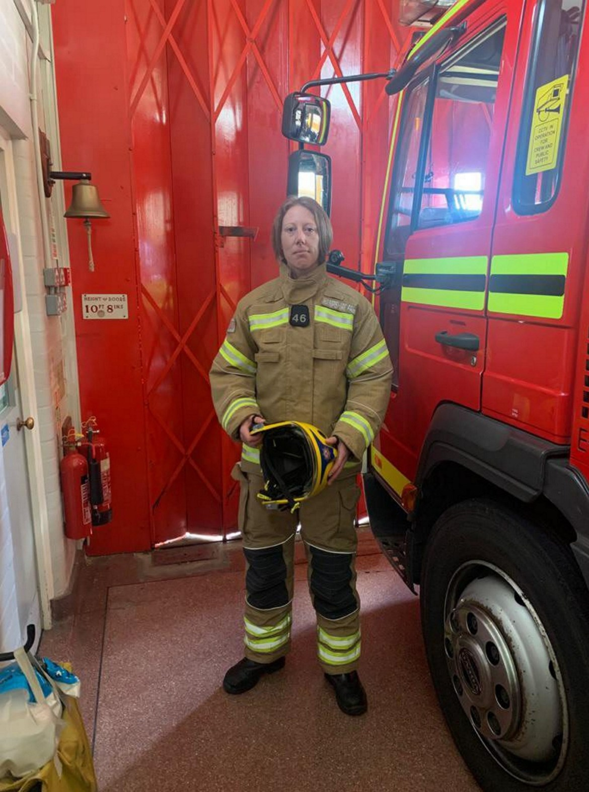 Firefighter Sian hopes the implant will help her understand blackouts she has suffered since a car crash aged 18
