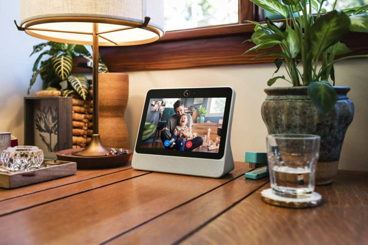 Facebook's Portal smart speaker was poorly received in the wake of the Cambridge Analytica data scandal (Photo by Facebook)