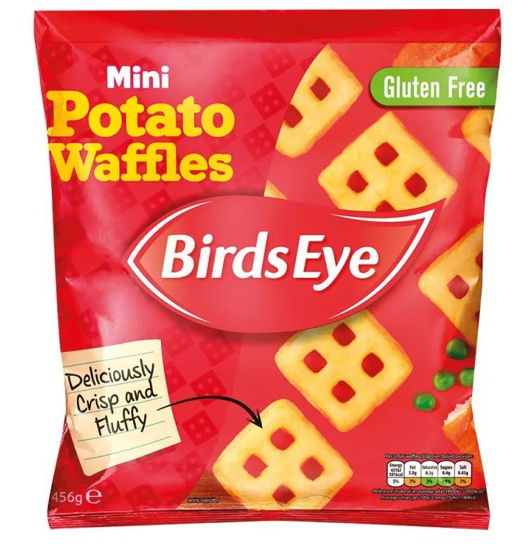 Get these Birds Eye Mini Potato Waffles as part of Co-Op's freezer filler for a fiver deal