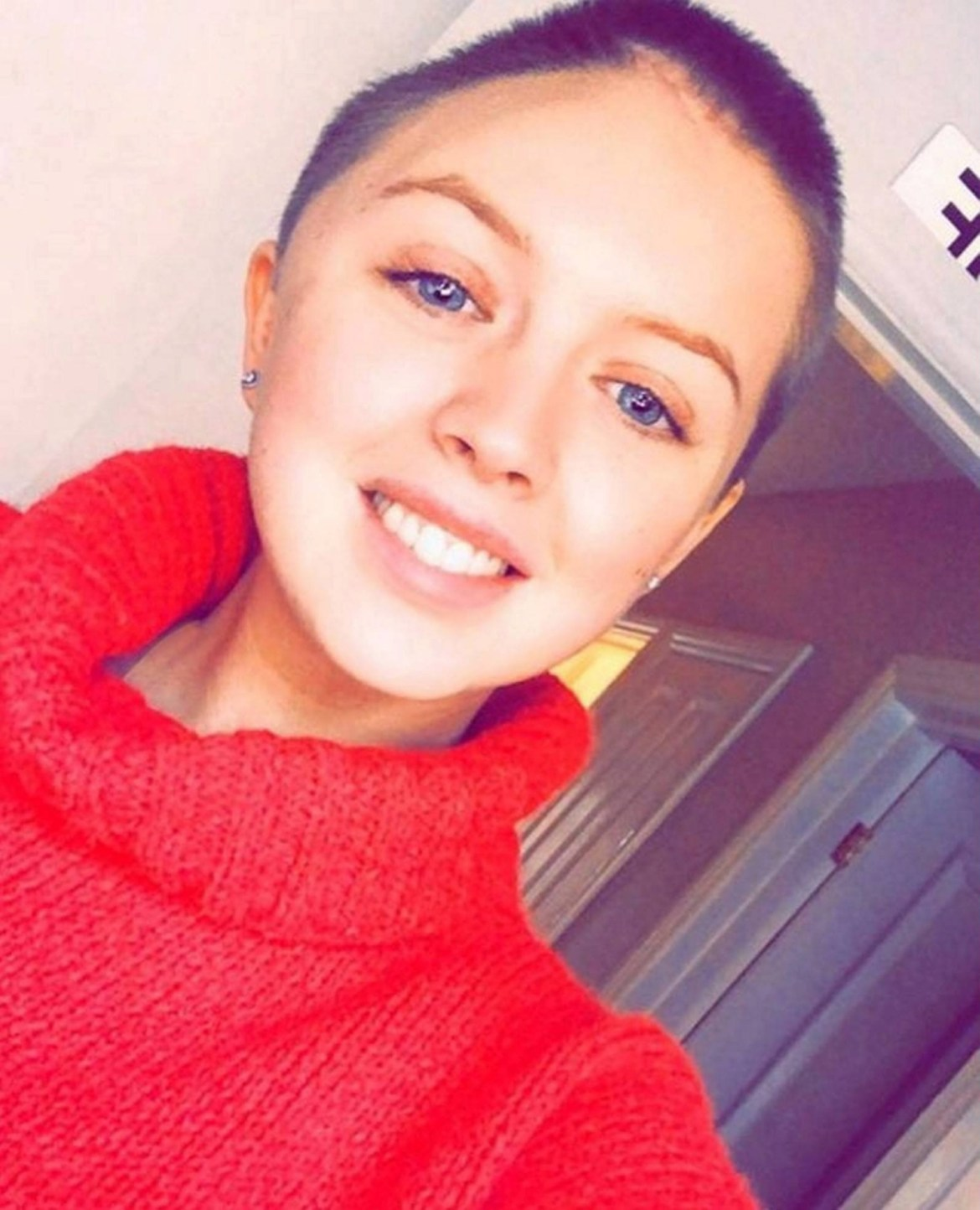 Jade Henderson is lucky to be alive after collapsing on a night out with friends