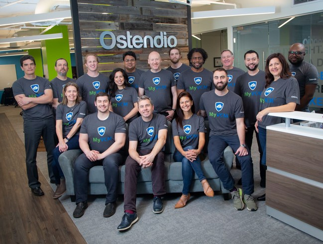 The Ostendio team in Arlington, VA office