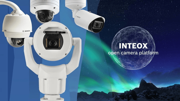 Bosch's new INTEOX camera series was one of several new security solutions showcased this week during GSX+.