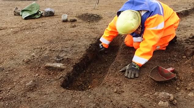 Experts have uncovered signs of pagan worship in the region over the years, typically artifacts, but this is the first Old Norse temple discovered