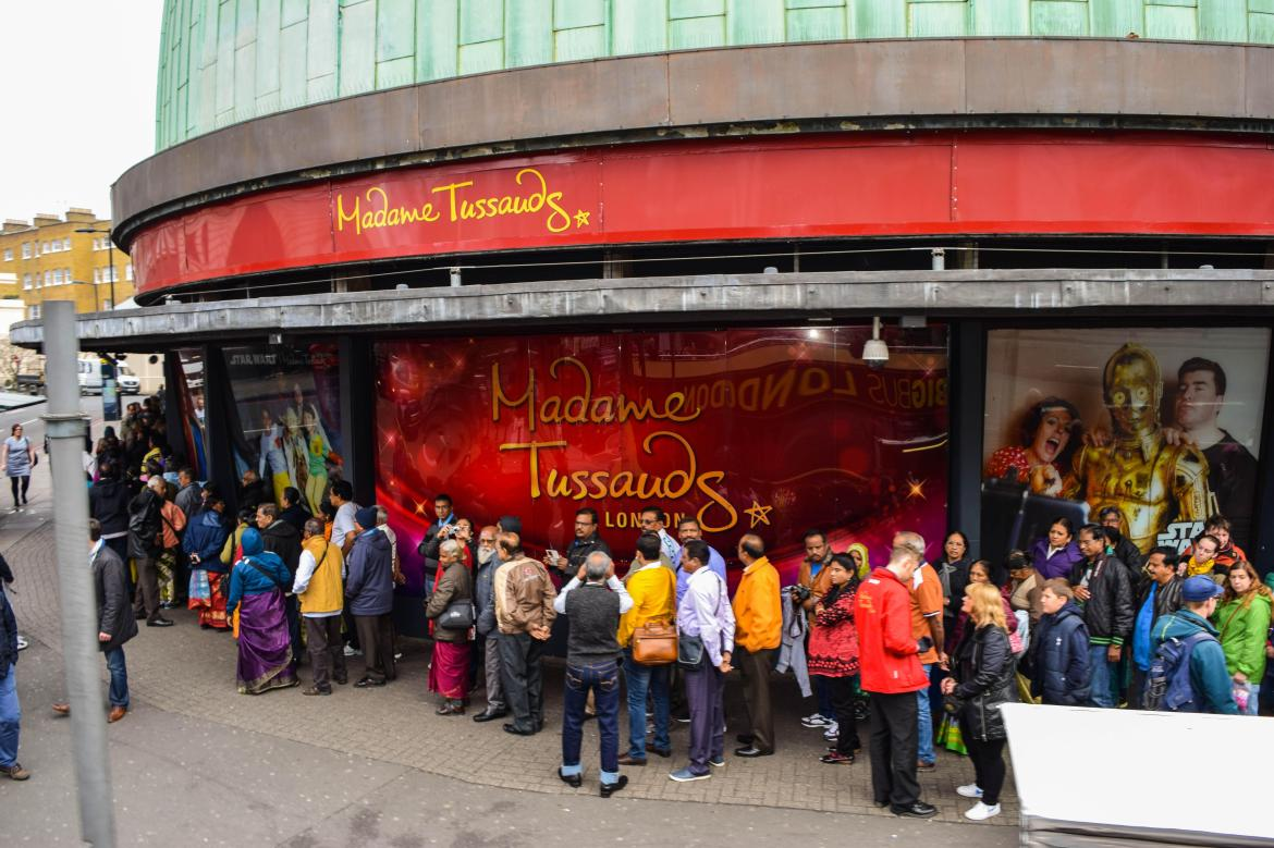 Use TEN Sun Savers codes for two free tickets to Madame Tussauds