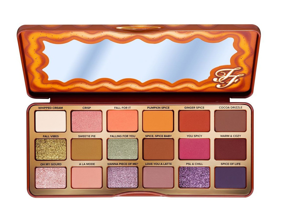 There's no need to spend £40 on the Too Faced Pumpkin Spice eyeshadow palette...