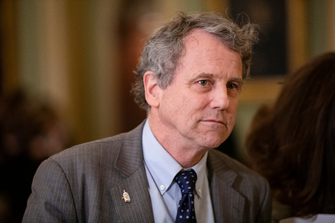 Sen. Sherrod Brown.