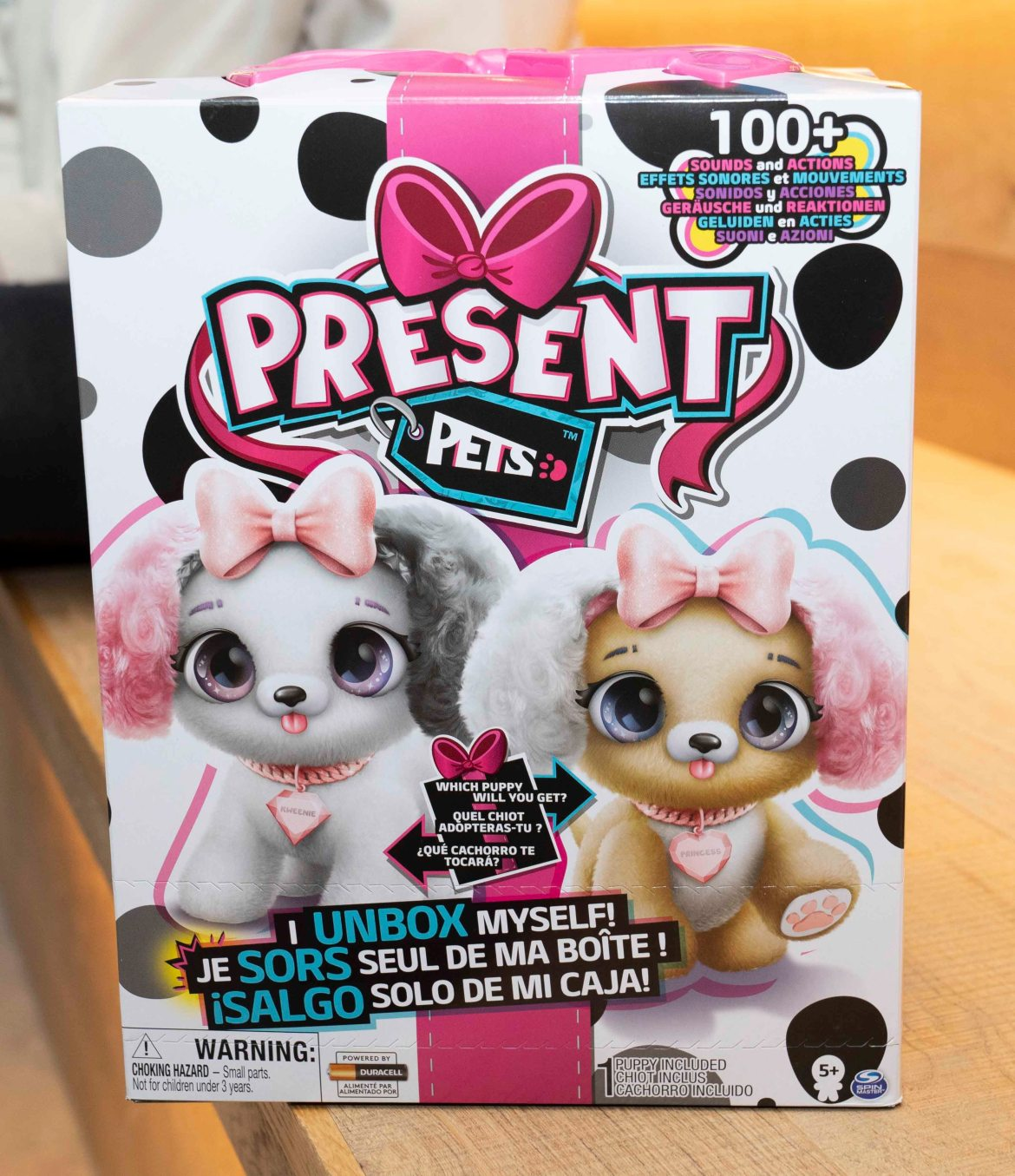 Present Pets, with a £54.99 price tag, is among this season's most wanted toys