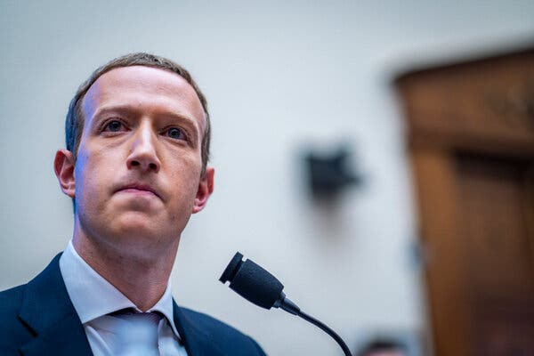 The hearing on Wednesday will be the fifth time Mark Zuckerberg, the chief executive of Facebook, has testified before lawmakers.